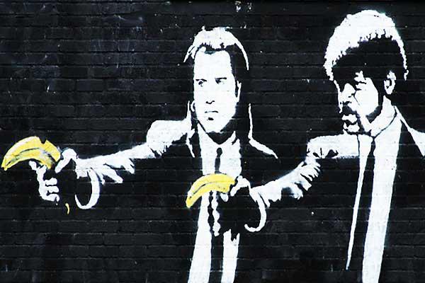 BANKSY ศิลปิน Graffiti ระดับโลก
